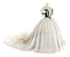 Réplica del vestido húngaro de coronación