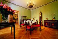 Panelled Empire room