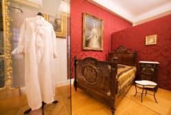 Bedroom of Empress Elisabeth in Gödöllö
