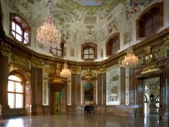 Sala de mármol en el Alto Belvedere
