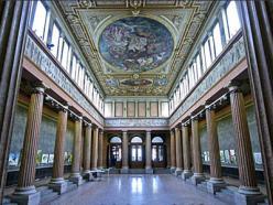 Interior de la Academia de Bellas Artes