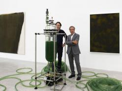 Vista de la Exposición. Manna-Maschine IV, de Thomas Feuerstein, 2009