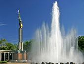 Fuente Hochstrahlbrunnen
